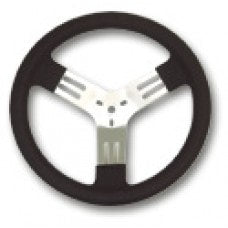 Aluminum Steering Wheel 13 inch Covered