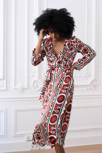 ROBE SOIE EDOME PARIS