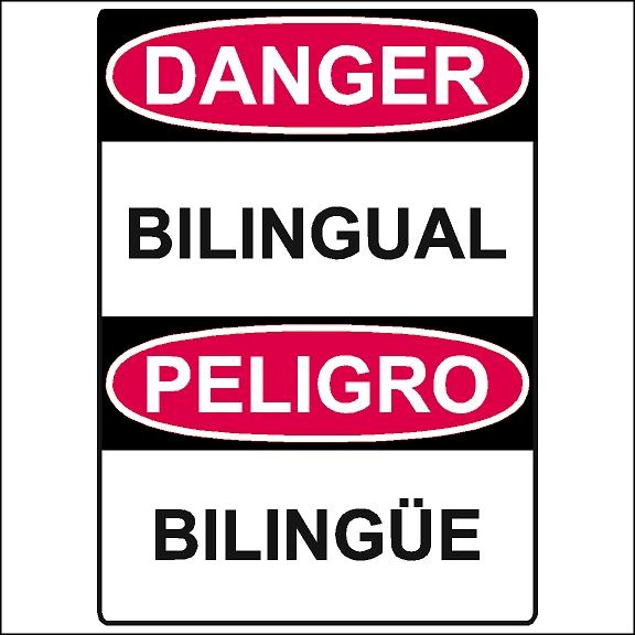 Bilingual Safety Stickers