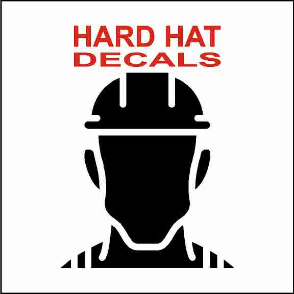 Hard Hat Safety Stickers
