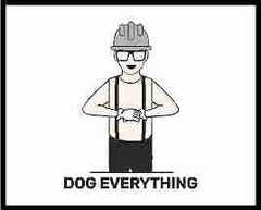 Dog Everything Hand Signal For Crane Operator