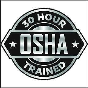 OSHA 30 Sticker 30 Hour OSHA Trained