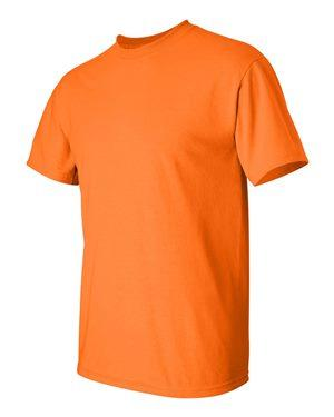 Safety Orange Short Sleeve T-Shirt T-Shirts