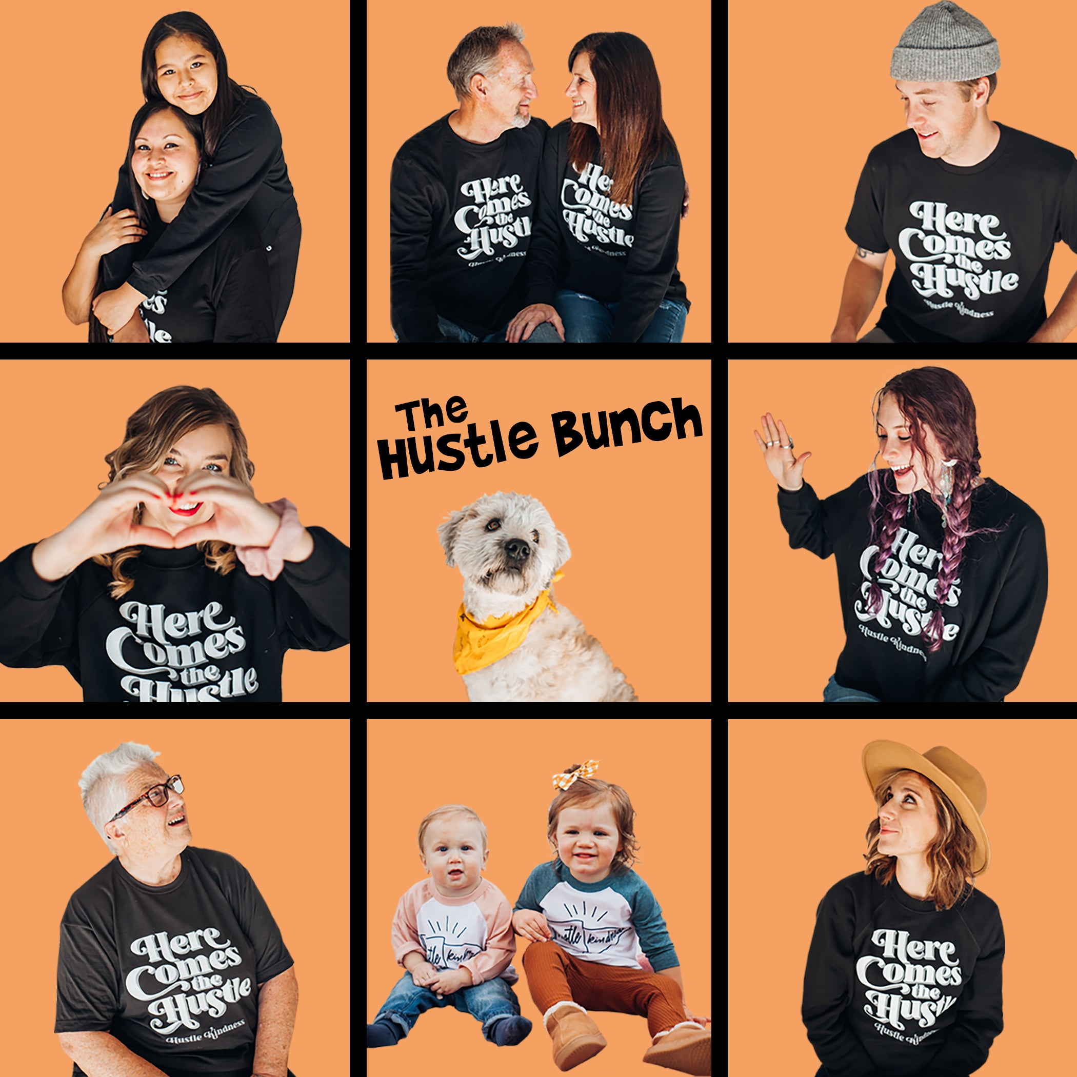 The Hustle Bunch - Hustle Kindness