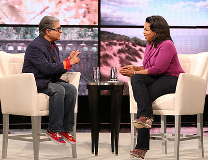 PNF Shoes on Deepak Chopra with Oprah