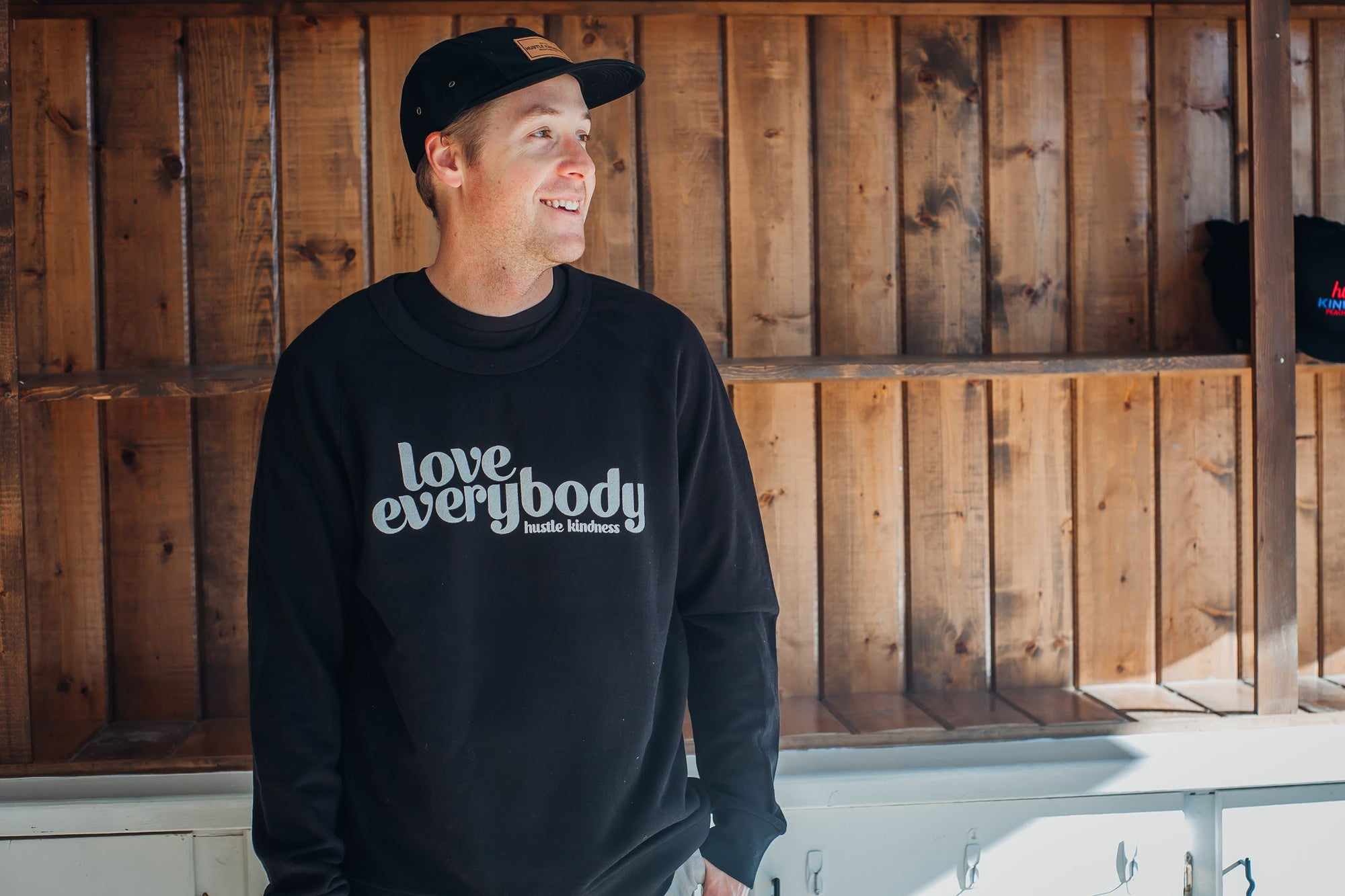 Love Everybody- HK Crewneck