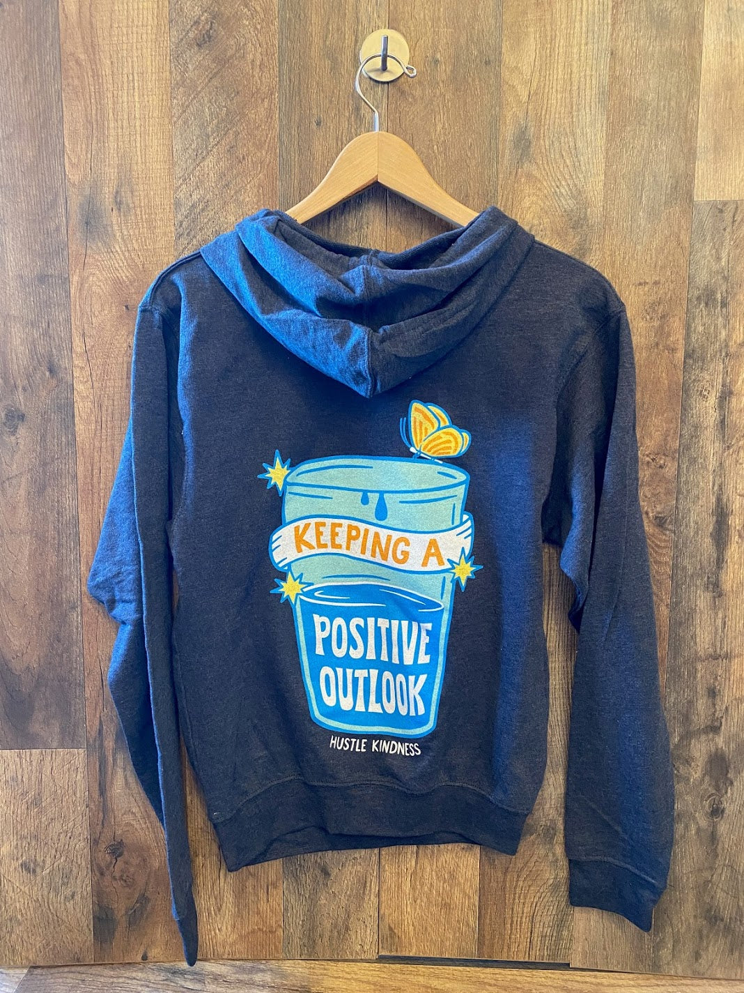Positive Outlook- HK Unisex Hoodie