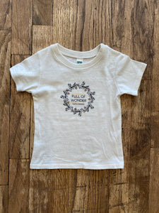 Full of Wonder HK Organic Toddler & Youth Tee