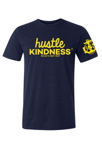 Unisex Military Edition Hustle Kindness T-Shirt (USMC, NAVY, AIR FORCE, ARMY)
