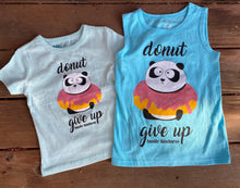 Load image into Gallery viewer, Donut Give Up Youth Tee/Tee