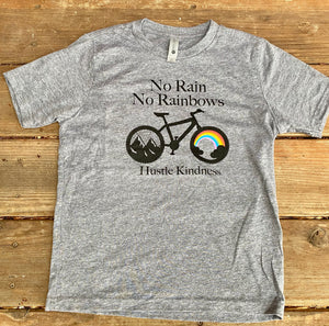 Rainbows and Bike Unisex Tee