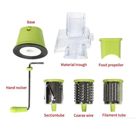 Image of 3-In-1 Multi-Functional Manual Vegetable Slicer