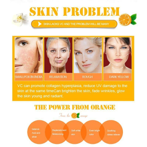 Image of Super Vitamin C Serum Facial Cream – Organic Anti-Aging Serum For Skin Treatment