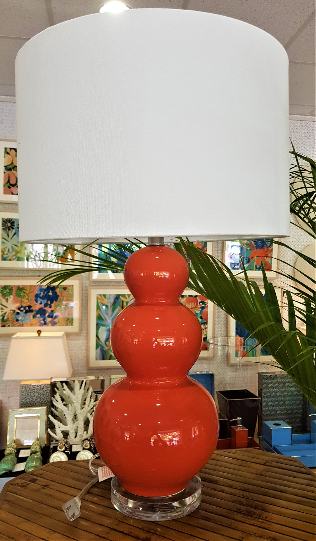 Courtney Coral Lamp