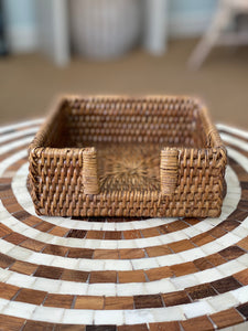 Rattan Small Napkin Tray