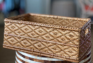 Storage Basket with Insert Handle
