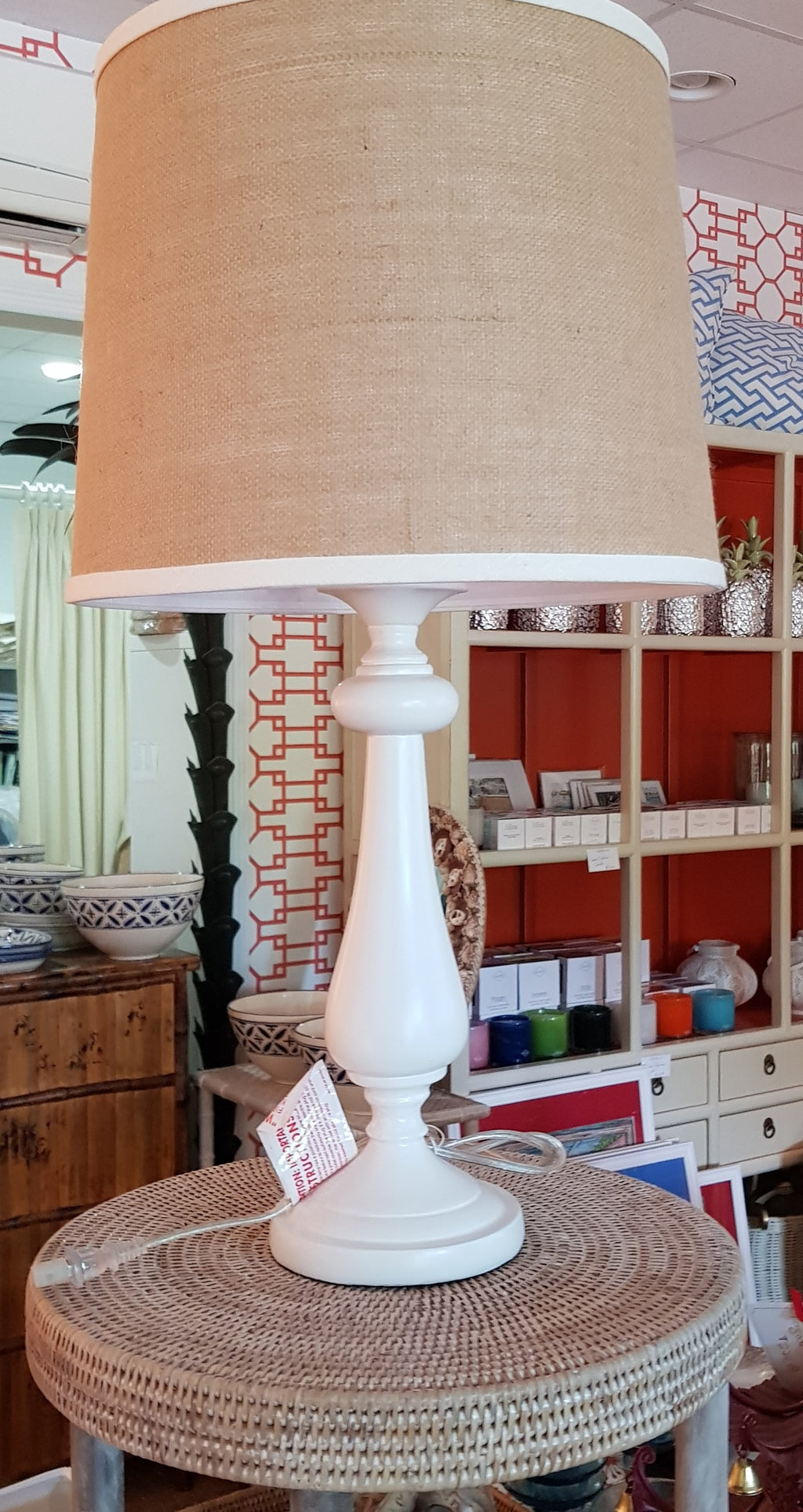 Lexington White Lamp