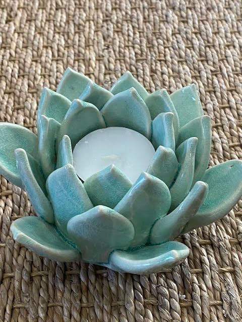 Succulent Candle Holders
