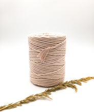 Load image into Gallery viewer, Ballet pink 4mm Recycled cotton spool | Macrame & weaving supplies