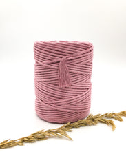 Load image into Gallery viewer, Pink  cotton candy 4mm Recycled cotton spool | Macrame & weaving supplies
