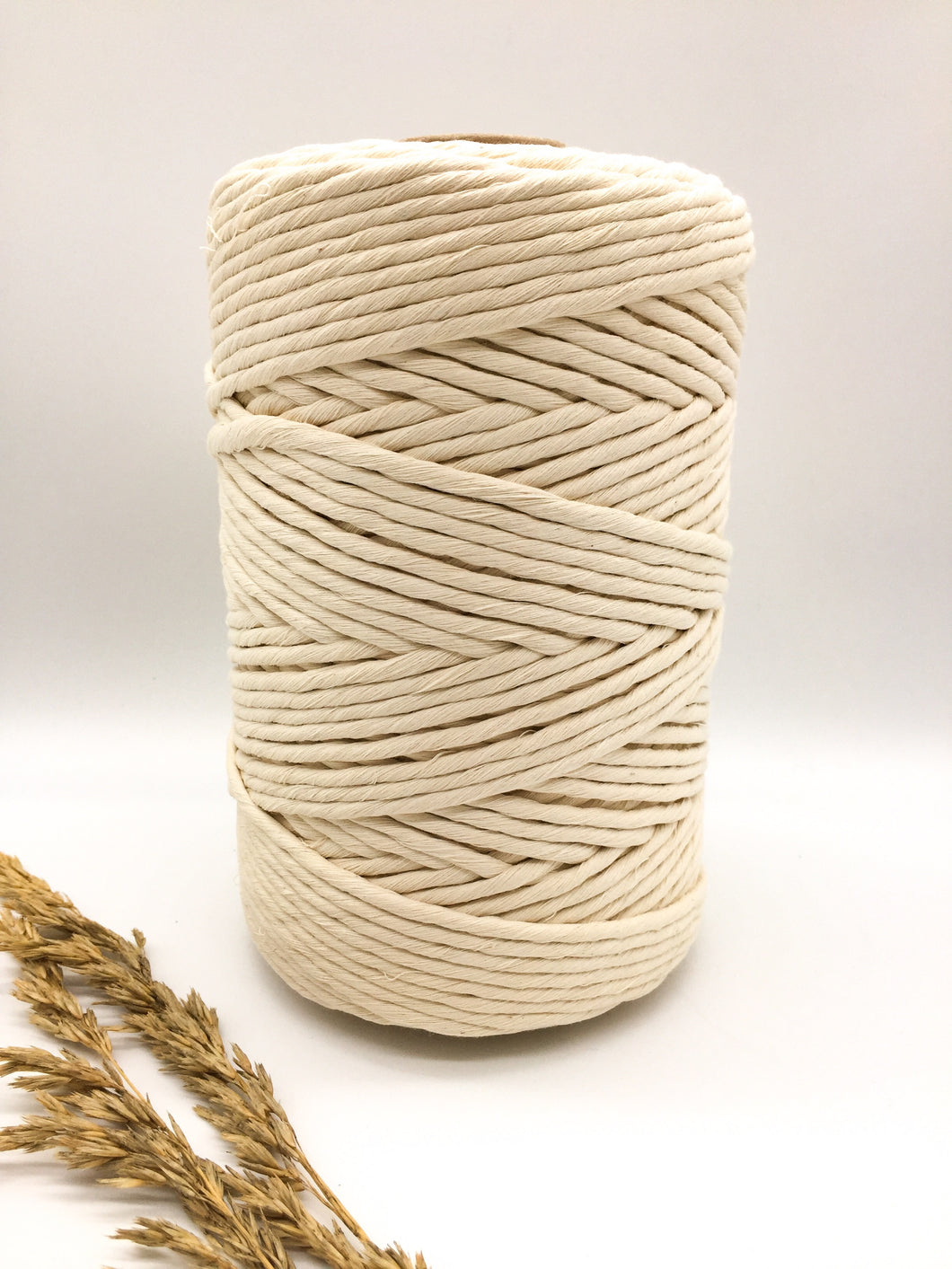 5mm NATURAL single twist cotton string