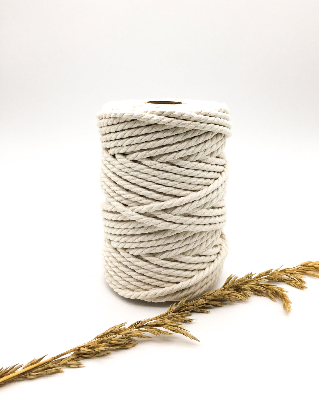 6mm NATURAL Twisted rope