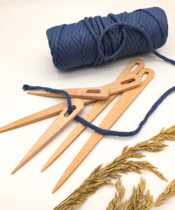 Wooden weaving NEEDLES