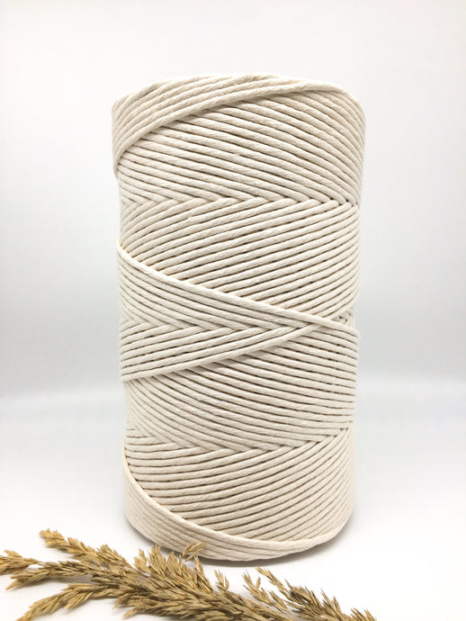 Xl recycled cotton string 500mtr natural | Macrame cord / string / rope|