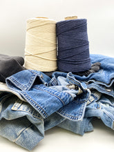 Load image into Gallery viewer, Recycled 1mm DENIM & ORGANIC cotton