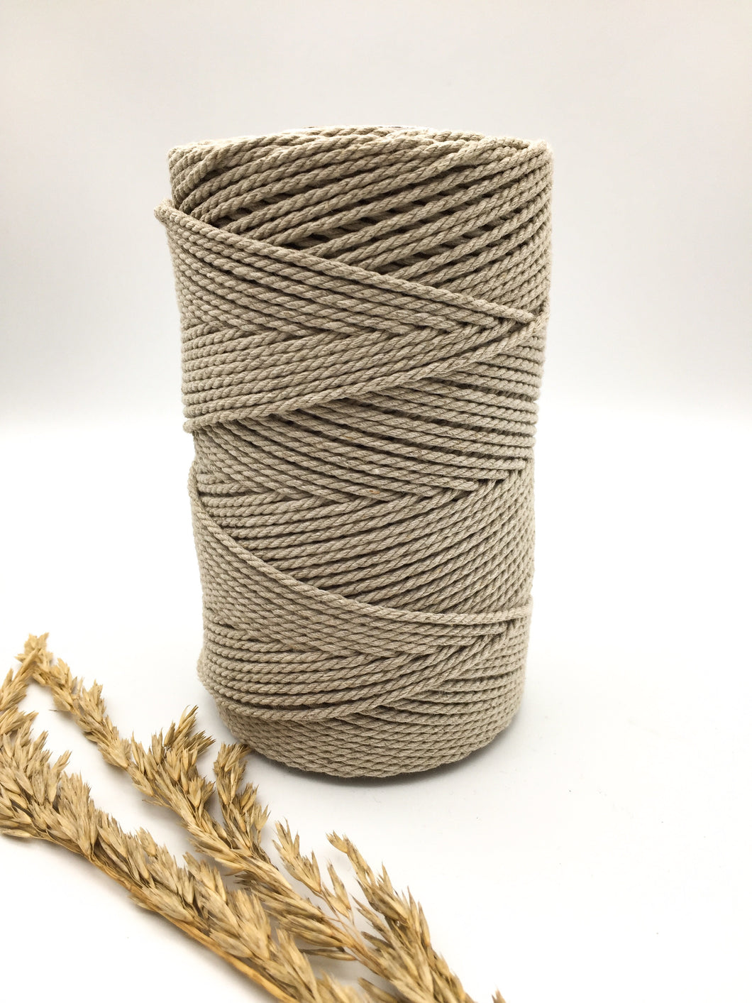 2.5mm LINEN MIX twisted rope