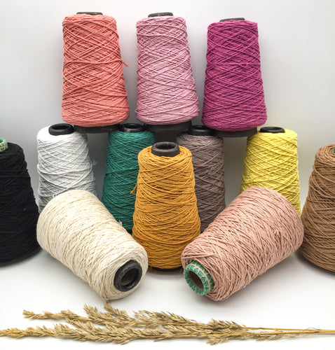 1mm single twist Cotton string ~ WARP Thread