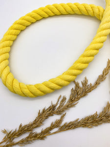 XL 3-ply cotton rope