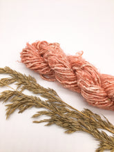 Load image into Gallery viewer, Vegan banana fibre yarn pink red coral