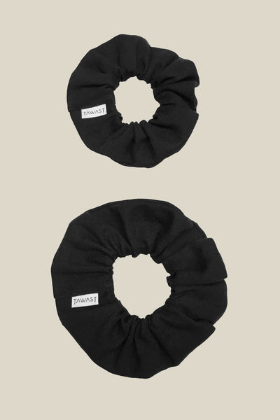 Aurora Scrunchie - Black