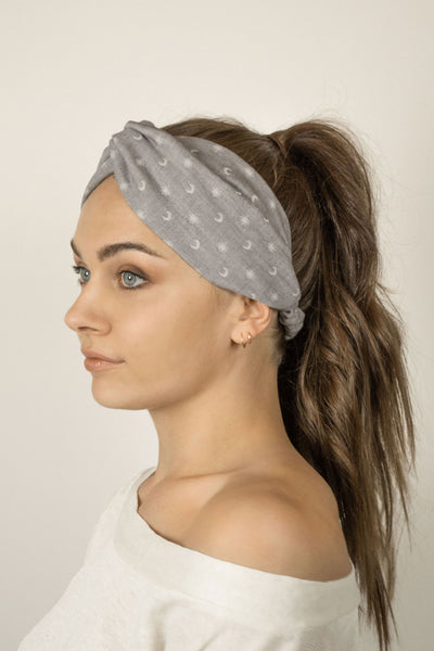 Harmony Headband - Starry Grey