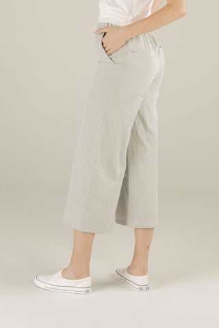 Forest Whispers Culottes - Light Sage