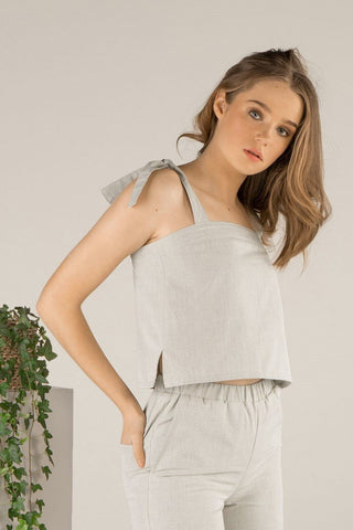 Free Spirit Top - Light Sage