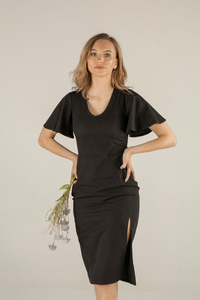 Wildflower Soul Dress - Black