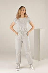 Mindful Warrior Jumpsuit - Light Sage