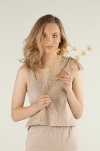 Free Spirit Top - Hazelnut
