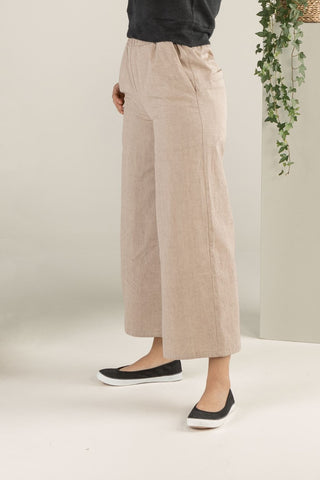Forest Whispers Culottes - Hazelnut