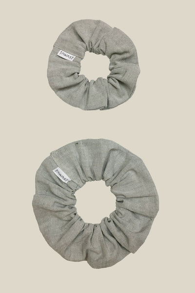 Aurora Scrunchie - Light Sage