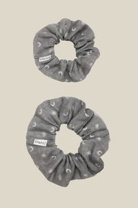 Aurora Scrunchie - Starry Grey