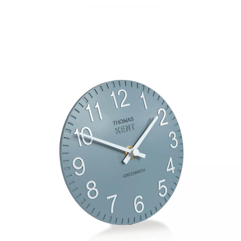 "cadeauxwells - 6"" Cotswold Mantel Clock Denim - Art Marketing - Homewares"
