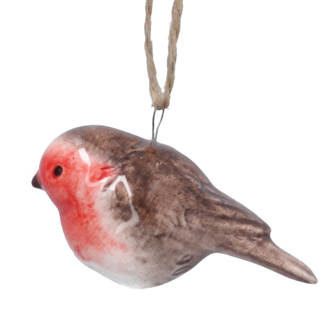Ceramic Robin Decoration