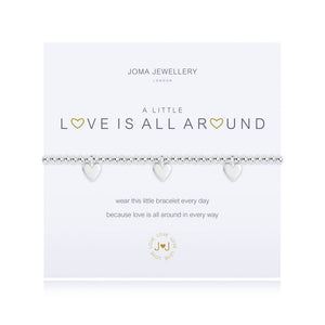 cadeauxwells - A Little Love is All Around Bracelet - Joma Jewellery - Jewellery