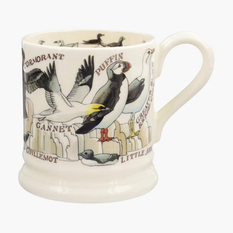 cadeauxwells - Sea Birds 1/2 Pint Mug - Emma Bridgewater - Crockery