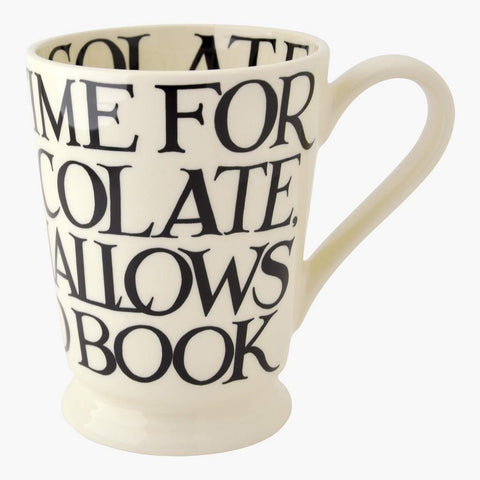 cadeauxwells - Black Toast All Over Cocoa Mug - Emma Bridgewater - Crockery