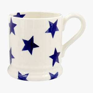 cadeauxwells - Blue Star 1/2 Pint Mug - Emma Bridgewater - Crockery