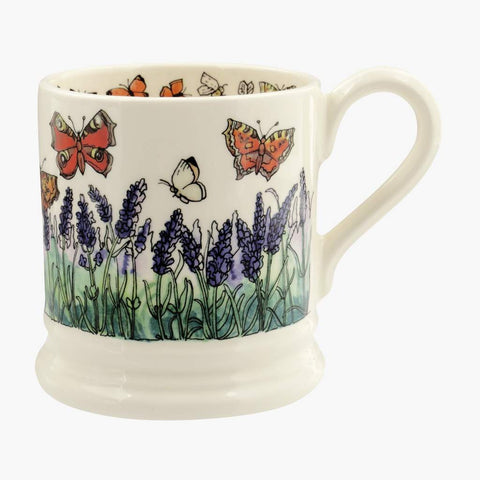 cadeauxwells - Butterflies and Bee 1/2 Pint Mug - Emma Bridgewater - Crockery